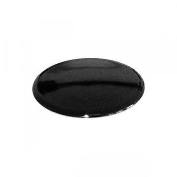 Capac pentru arzator 80 mm, emailat negru