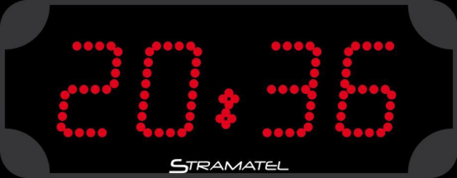 Ceas led Stramatel caractere 12cm