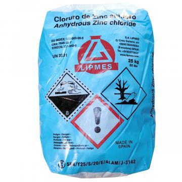 Clorura de Zinc Heptahidrat (sac 25 Kg) de la Sirius Distribution Srl