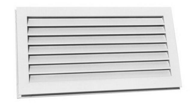 Grila usa Door transfer grid TR 600x100mm