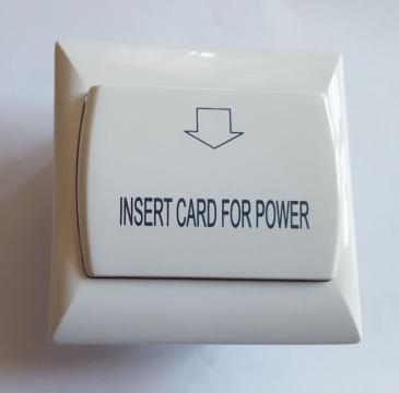 Economizor electricitate cu card Mifare de la Lax Tek