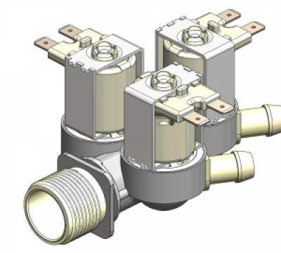 Electrovalva tripla 180, 230V, 13.5mm