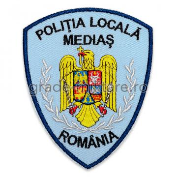 Emblema brodata Politia Locala 5 personalizabila de la Hyperion Trade