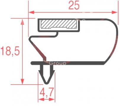 Garnitura 1620x670mm 3286107