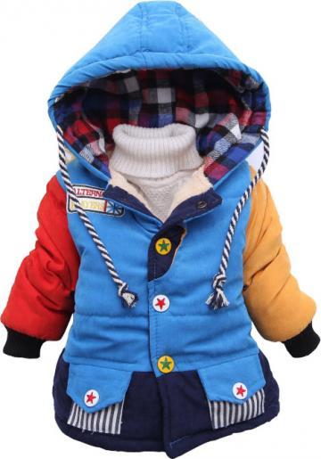 Geaca iarna imblanita Hero multicolor, baieti de la A&P Collections Online Srl-d