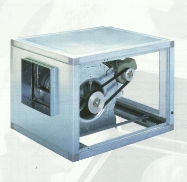 Ventilator centrifugal debit CVTT 12/12 with motor of 0.37kw