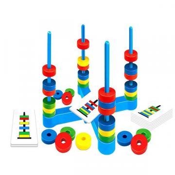 Joc educational cu inele magnetice, Magnetic Ring Game de la Arca Hobber Srl