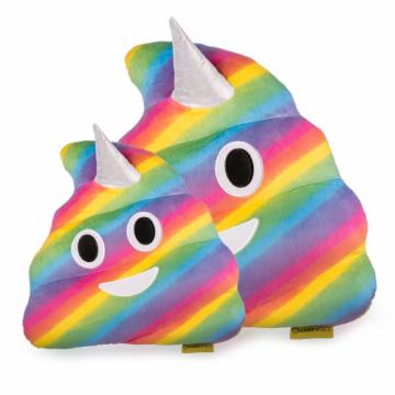 Jucarie de plus Rahat Unicorn Curcubeu Multicolor Emoji de la Mobilab Creations Srl