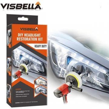 Kit auto Visbella complet pentru restaurare, polisare faruri