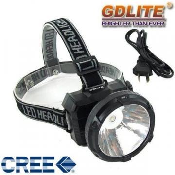 Lanterna frontala cu acumulator si LED de 1W Gdlite GD-211 de la Startreduceri Exclusive Online Srl - Magazin Online - Cadour