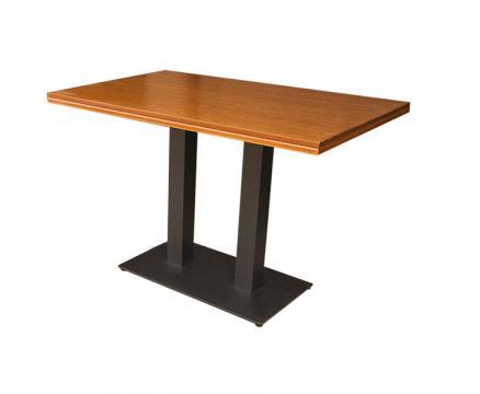 Masa cu doua picioare metalice de la Mobirom