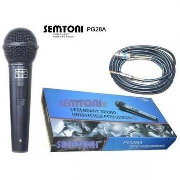 Microfon cardioid dinamic cu fir Semtoni PG28A de la Startreduceri Exclusive Online Srl - Magazin Online - Cadour