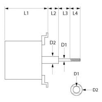 Motor ventilator Unox 230V 3 phase 50Hz 1 viteza, VN1000B0