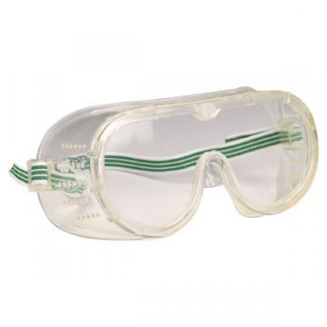 Ochelari de protectie - masca aerisire directa, cu lentile