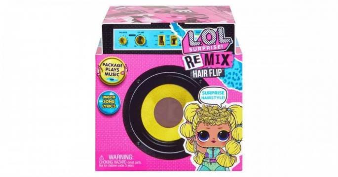 Jucarie papusa L.O.L. Surprise: Remix Hairflip Tots de la Pepita.ro
