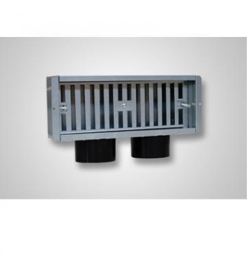 Plenum ventilatie perete 2 x 75 300x100 lateral