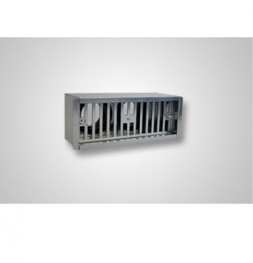 Plenum ventilatie perete 2 x 75 300x100 spate
