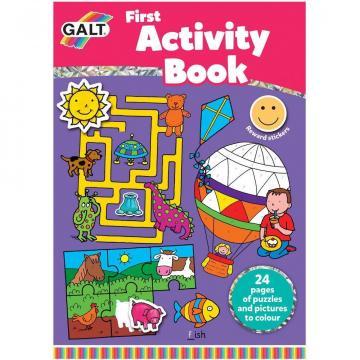 Carte de colorat, Prima carte cu activitati de la A&P Collections Online Srl-d