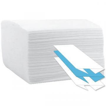Prosop hartie C 23x33cm, 2 straturi, 100% celuloza, alb de la Sirius Distribution Srl