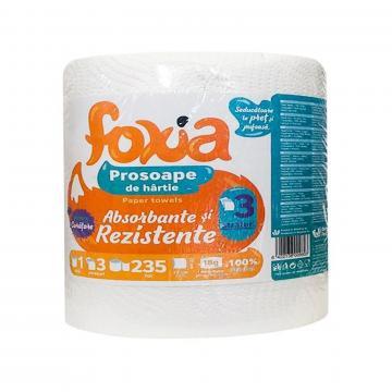 Prosop monorola Foxia, 3 straturi, 235 foi de la GM Proffequip Srl