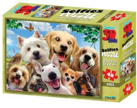 Puzzle 3D 48 piese Dog de la Chess Events Srl