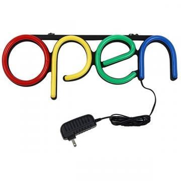 Reclama luminoasa LED neon cu mesaj Open de la Startreduceri Exclusive Online Srl - Magazin Online - Cadour