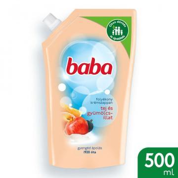 Rezerva sapun lichid Baba cu lapte fructe 500ml