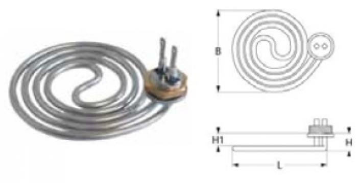 Rezistenta 3000 W, 230 V 415778 de la Kalva Solutions Srl