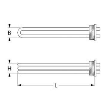 Rezistenta 6000W, 230V, 3 circuite de incalzire 416222