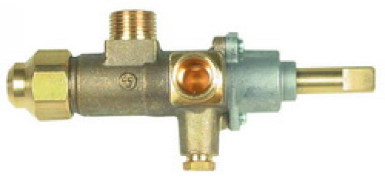Robinet de gaz Copreci CAL-3200, intrare gaz M18x1.5 109504