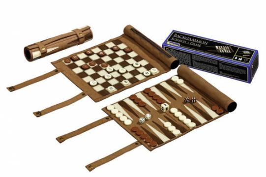 Set calatorie sah, table, rulou mic de la Chess Events Srl