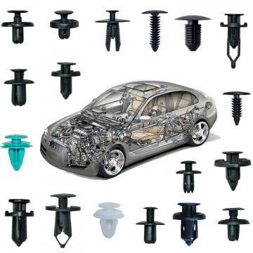 Set clipsuri de plastic cleme auto interior exterior de la On Price Market Srl