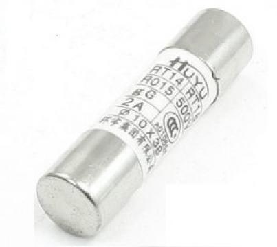 Siguranta ceramica cilindrica rapida 25A RT14, RT18, R015 de la Kalva Solutions Srl