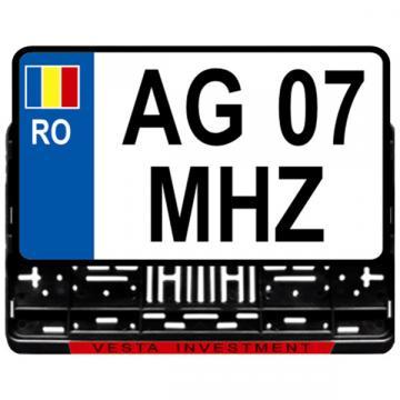Suport numere inmatriculare auto de teren