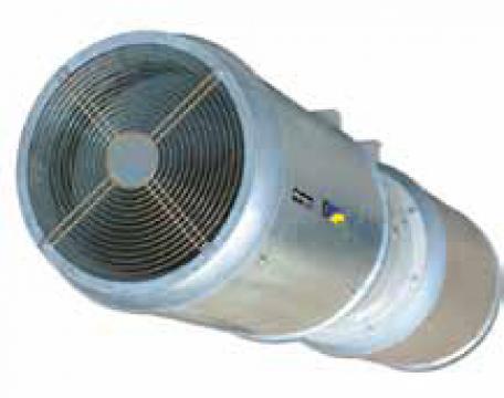 Ventilator axial evacuare fum THT/IMP-C-REV-31-2/4T