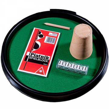 Tava mare cu accesorii poker de la Chess Events Srl
