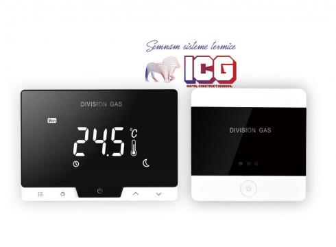 Termostat de ambient cu control prin internet Homeplex de la ICG Center