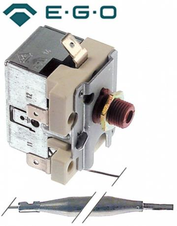 Termostat de siguranta 260*C, 1 pol, 16A, bulb 6mmx77mm