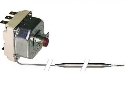 Termostat de siguranta 290*C, 3poli, 20A, bulb 6mmx220mm