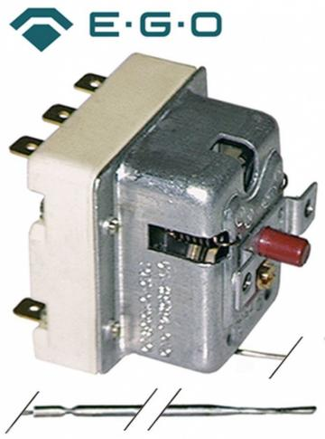 Termostat de siguranta 360C, 3 poli, bulb 3x190mm
