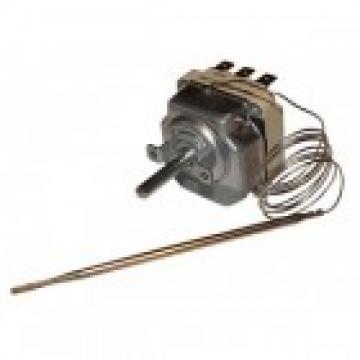 Termostat reglabil 50-250*C, 3NO, bulb 3mmx120mm