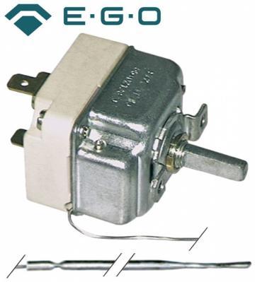 Termostat reglabil 90-185C, 1NO, 16A, bulb 4mmx231mm