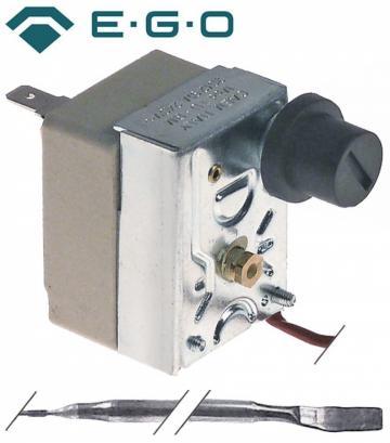 Termostat de siguranta 235*C, 1 pol, 16A, bulb 3mmx190mm