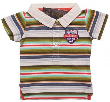 Tricou Polo pentru baieti de la A&P Collections Online Srl-d