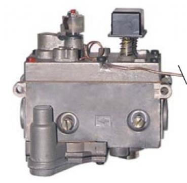 Valva de gaz Minisit 0.710.852, 20-90*C