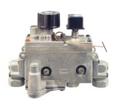 Valva de gaz Minisit 0.710.199, 30-90*C
