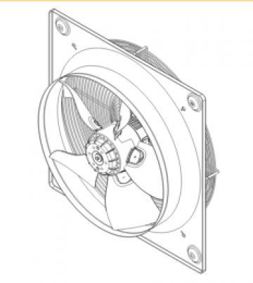 Ventilator axial HXTR/6-500 de la Ventdepot Srl