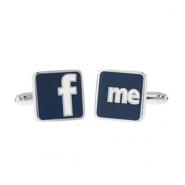 Butoni Facebook Friends din otel inoxidabil de la Luxury Concepts Srl