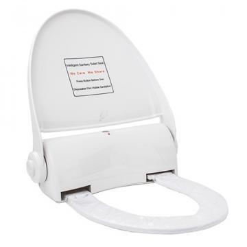 Capac toaleta cu buton - cu folie 135 utilizari, Navisani