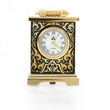 Ceas de colectie incrustat cu fir de aur Toledo